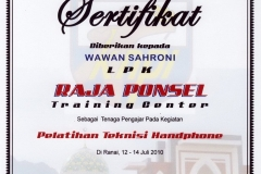 01 Sertifikat Penghargaan DPD KNPI Kabupaten Natuna